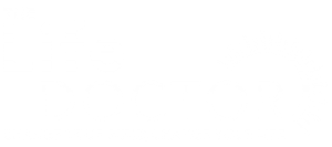 The Life Doctor logo + tag white